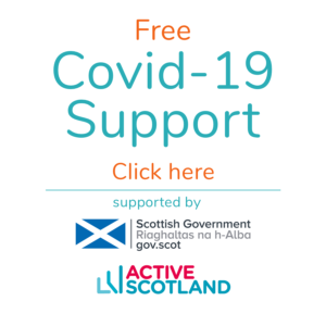 Actify Covid-19 Support Button